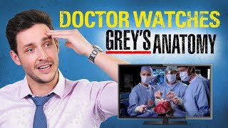 Real Doctor Reacts to GREY'S ANATOMY | Medical Drama Review | Doctor Mike width=