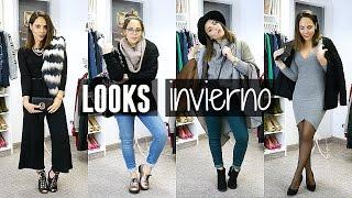 getlinkyoutube.com-LOOKS DE INVIERNO PARA TODA OCASIÓN | What The Chic