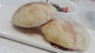 getlinkyoutube.com-Homemade Pita Bread and Pita Pockets - Video Recipe by Bhavna