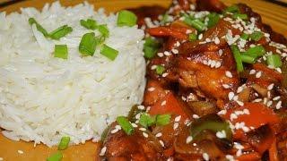 دجاج على الطريقة الصينية Chef Ahmad AllCooking/Chinese Chicken