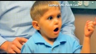 getlinkyoutube.com-MIRACLE!! Deaf Boy Hears Father's Voice For the First Time!!!