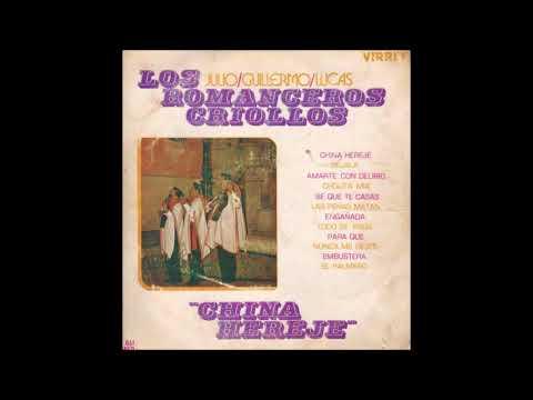 Enganada de Los Romanceros Criollos Letra y Video