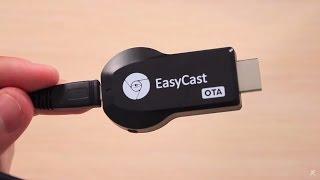 getlinkyoutube.com-Обзор EasyCast Поддерживает AirPlay и Miracast
