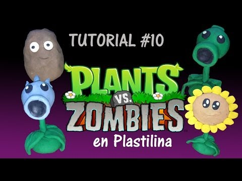 Tutorial Plantas Vs Zombies de Plastilina