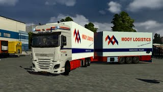getlinkyoutube.com-Euro Truck Simulator 2 - DAF XF Euro 6 Tandem - v. 1.12.1