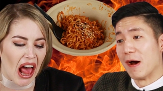 People Try The World's Spiciest Instant Noodle
