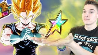 100% RAINBOW LR SUPER VEGITO vs SUPER BATTLE ROAD! Dragon Ball Z Dokkan Battle
