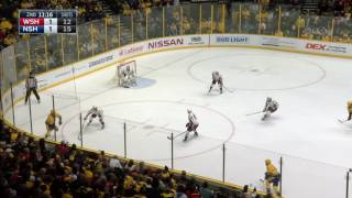 Forsberg dishes great pass to Josi, later scores 7th goal in 3 games