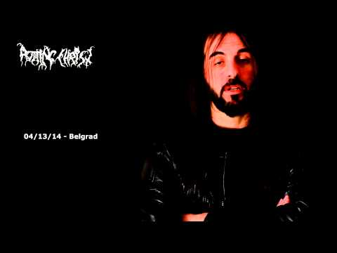 Message from Sakis - Rotting Christ In Serbia