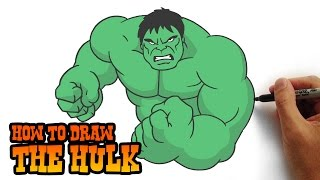 getlinkyoutube.com-How to Draw The Hulk- Simple Step by Step Video Lesson