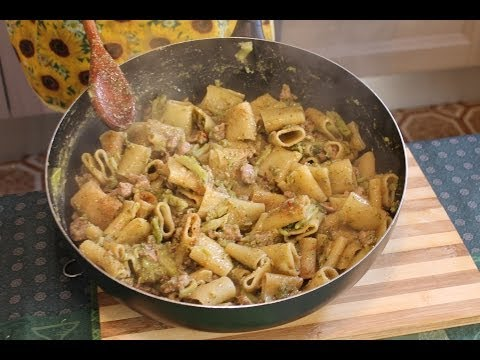 Paccheri del Capo dei Capi (ricetta sicula)