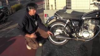 getlinkyoutube.com-YAMAHA SR400 3型 RH01J スーパートラップマフラーの仕組み