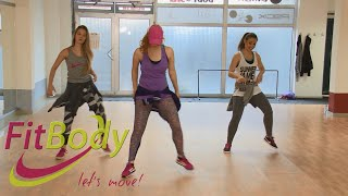 "getlinkyoutube.com-""Guacamaya"" warm up Zumba with Fit Body"