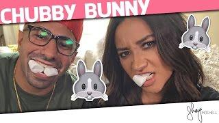 getlinkyoutube.com-Chubby Bunny Challenge with FouseyTUBE | Shay Mitchell