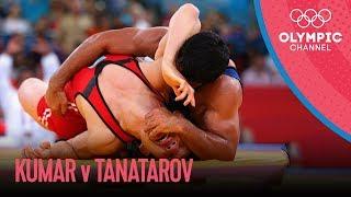 getlinkyoutube.com-Men's Wrestling 66kg Semi-Final - Kazakhstan v India | London 2012 Olympics