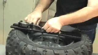 getlinkyoutube.com-EZ Break'n ATV Portable Tire Changer