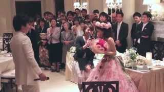 getlinkyoutube.com-結婚式 感動のFLASHMOB 2015/4 新郎から新婦へフラッシュモブ