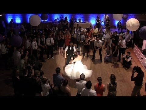 Megg and Clayton's Wedding Swing Dance Jam