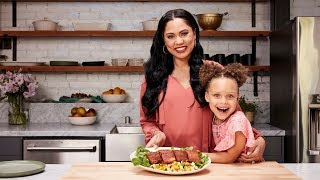Ayesha Curry's Spiced Salmon with Mango Avocado Salad