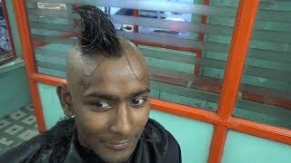 Amazing Indian Barber Head Shave |Master Raja,,