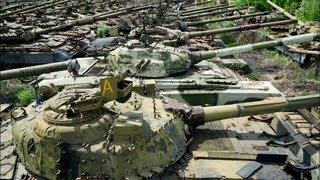 getlinkyoutube.com-Charków - cmentarzysko radzieckich czołgów