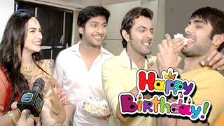 getlinkyoutube.com-Sanskar Celebrates His Birthday   Swaragini   Exclusive