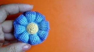 getlinkyoutube.com-Вязаные цветы Урок 37 Free crochet flower pattern