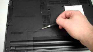 getlinkyoutube.com-Lenovo SL510 (Thinkpad Laptop)  Removing/Replacing the Hard Drive