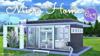 getlinkyoutube.com-Sims 4 | House Build: Micro Home Starter