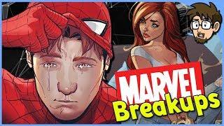 Heartbreaking Marvel Comics Breakups!