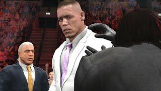 getlinkyoutube.com-WWE 2K17 Story - John Cena Fires The Failure
