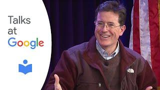 "getlinkyoutube.com-Stephen Colbert: ""America Again: Re-Becoming the Greatness We Never Weren't"" | Talks at Google"