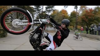 getlinkyoutube.com-Moto X Trial Urban Freeride Moto50 2014