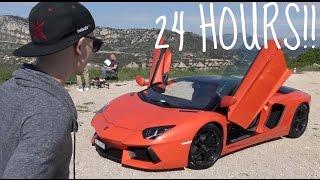 24 HOURS WITH THE LAMBORGHINI AVENTADOR!!