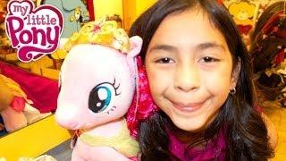 My Little Pony Rarity or Pinkie Pie? Making Pinkie Pie at Build-A-Bear Workshop | B2cutecupcakes