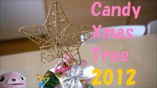 getlinkyoutube.com-Candy Christmas Tree お菓子 クリスマスツリー