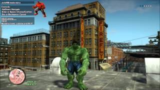 getlinkyoutube.com-Green Hulk VS Red Hulk GTA IV Mod By JulioNIB Red Hulk Skin By Me