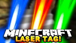 getlinkyoutube.com-Minecraft LASER TAG! #1 w/ PrestonPlayz, JeromeASF & Choco