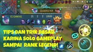 Mobile Legends Indonesia - Tips dan Trik Dasar menggunakan Karina