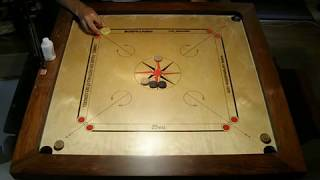 getlinkyoutube.com-Carrom techniques with double dues