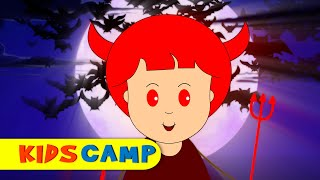 getlinkyoutube.com-The Haunted House | Halloween Songs for Children and Popular Nursery Rhymes Collection by KidsCamp