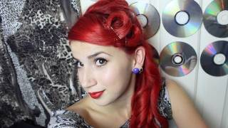 getlinkyoutube.com-Pin Up/Rockabilly Hair Tutorial - Quick Pin Curls