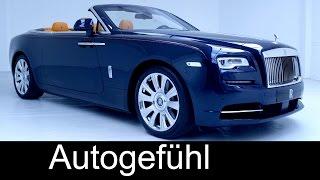 getlinkyoutube.com-Premiere all-new Rolls Royce Dawn (Wraith Cabriolet) preview exterior interior & interviews