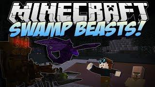 getlinkyoutube.com-Minecraft   SWAMP BEASTS! (Terrifying, Stinky Monsters!)   Mod Showcase