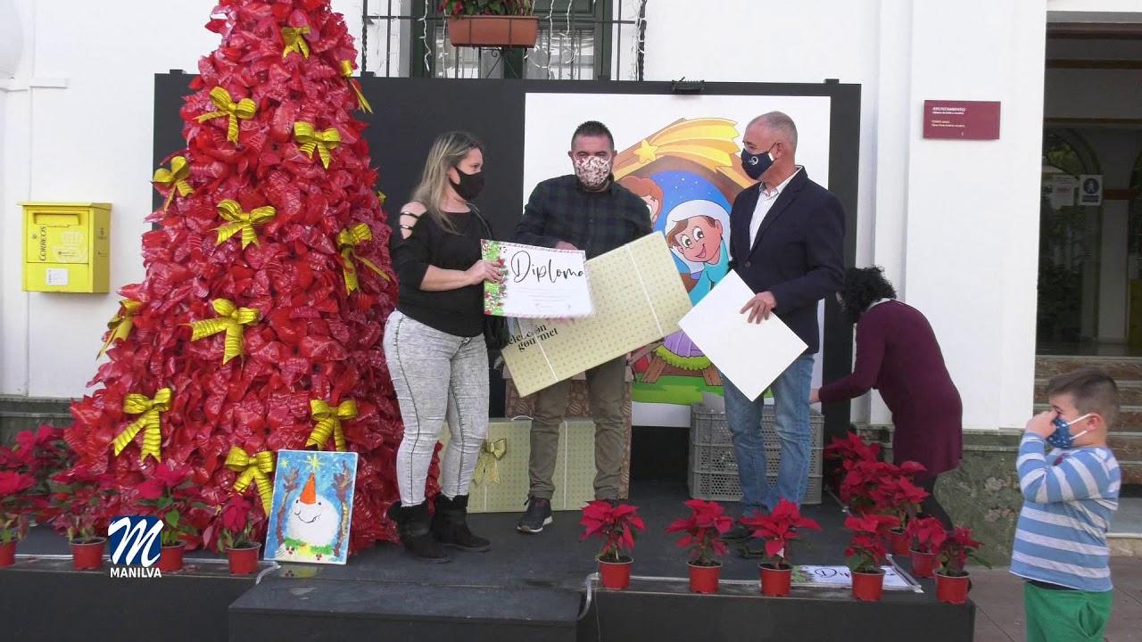 Se entregan los premios de los concursos navideños del área de fiestas