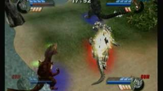 getlinkyoutube.com-Godzilla Unleashed Wiiquests: Godzilla 1954 & Titanosaurus vs Mechagodzilla & Kiryu