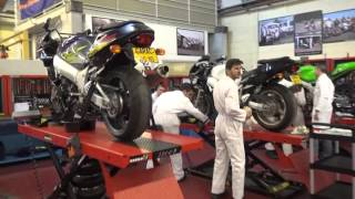 L'Atelier Moto du GARAC