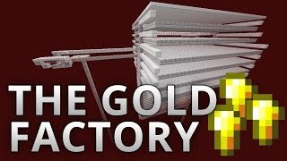 The Gold Factory (5100 nugget/h) -- Minecraft 1.7 & 1.8