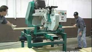 getlinkyoutube.com-Wood-Mizer Industrial - HR300 Single Head Resaw