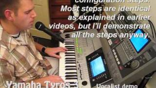 getlinkyoutube.com-Tyros 3: Blanket on the ground - Billy Jo Spears (vocal harmony)